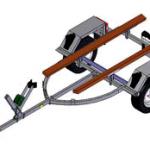 прицеп-трейлер для лодки