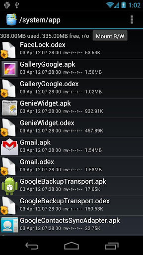 Root Explorer - Android file manager