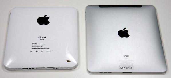 Сравнение поддельного и оригинального iPad
