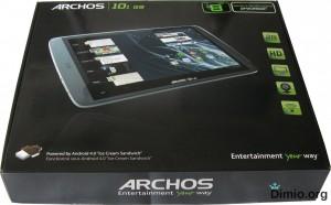Archos 101 G9 обзор, упаковка, коробка