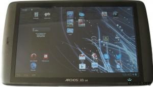 Обзор планшета Archos 101 G9 внешний вид