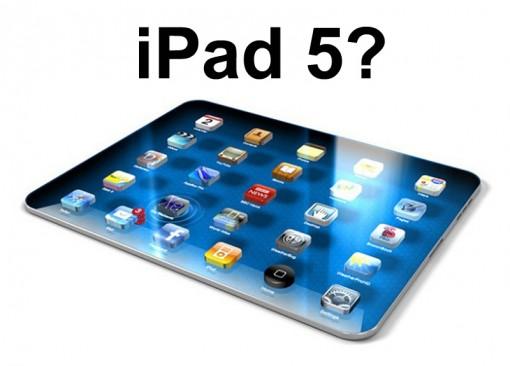 Как будет выглядеть новый iPad5