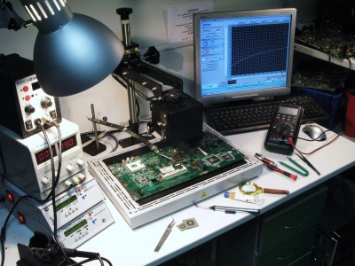Ремонт мерцания экрана ноутбука